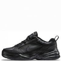 Nike Air Monarch IV Black Black Leather 4 WIDE Men's New In Box 416355 001