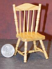 Dollhouse Miniature Kitchen Side Chair Oak 1:12 inch scale D56 Dollys Gallery