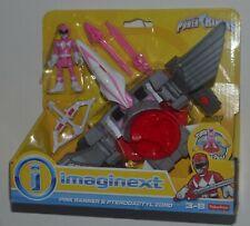 Power Rangers Pink Ranger & Pterodactyl Zord Imaginext Mip