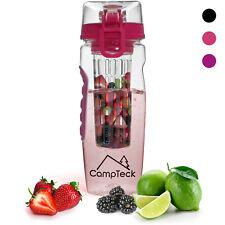 1000ml Frutta Acqua Bottiglia Infusioni Borraccia Infusore Plastica Senza BPA
