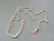 925 silber/Schönes hochwertiges Halskette 60cm x 2mm /Silberkette neu /3
