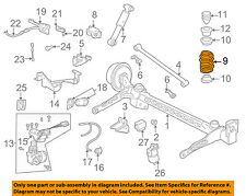 GM OEM Rear Suspension-Spring 22132417