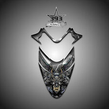 Polaris IQ RMK Shift Dragon Hood Graphics Decal Sticker  05-12 Guardian Black