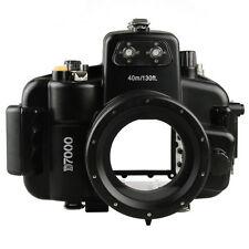 40M 130ft Waterproof Diving Housing Hard Case for Nikon D7000 DSLR Camera Dive