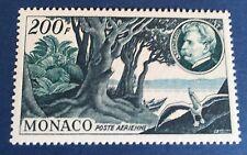 Monaco PA N° 59 200f Vert Et Bleu Neuf** TB Centrage Et Qualité Cote 55€
