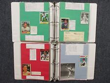 Angels(2 Notebook/120 Pages/100 Autographs/200 Players/w/JIM FREGOSI/NOLAN RYAN)