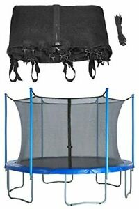 8/10/12/14/15/16ft Round Trampoline Enclosure Net Replacement Fence