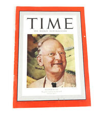 TIME Magazine Fechner of CCC (Feb 6, 1939) National Affairs 1930's Ads