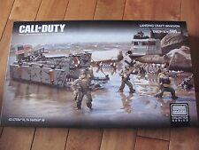 MEGA BLOKS Call of Duty #06829 Landing Craft Invasion 595 pcs NEW Sealed