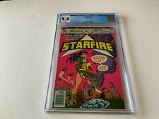 STARFIRE 1 CGC 9.4 WHITE PAGES WOMAN REBEL ENSLAVED WORLD DC COMICS 1976