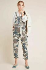ANTHROPOLOGIE CARTER CAMO UTILITY OVERALLS Size 2