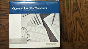 Microsoft Excel for Windows Boxed Set