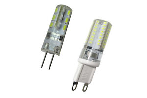 LAMPADINA LAMPADA LED ATTACCO G4 G9 12 220 VOLT V JOKER bulk LUCE CALDA FREDDA