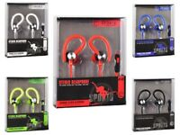 In Ear Sport Kopfhörer Ohrhörer Over Ear Stereo Bass für Samsung Galaxy M10