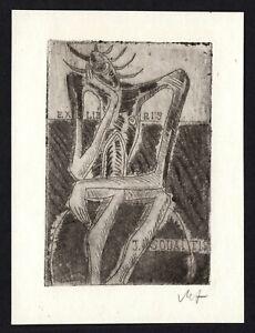 31)Nr.035- EXLIBRIS- Valentinas Antanavicius