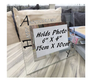 Personalised/Non personalised 5th Anniversary Picture Photo Frames Land