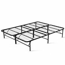 Queen Size DUOCLEV Folding Bed Base Metal Frame Portable Storage Platform