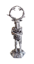 Herne the Hunter Pewter Ornament - Hand Made in Cornwall