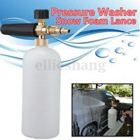 1L Pressure Washer Foam Soap Lance For Aldi Workzone Ryobi Vax Qualcast Parkside