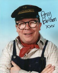 Perry Benson Autograph -Oh Doctor Beeching - Signed 10x8 Photo - Private Signing