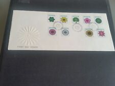 SINGAPORE 1973 SG 212-220 FLOWERS AND PLANTS (STAMP 1 )FIRST DAY COVER