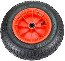 1x 4.80/4.00-8, 400mm Schubkarrenräder Schubkarre Rad Räder Reifen+Felgen k1