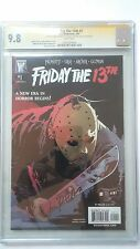 Friday the 13th #1 (2007) CGC 9.8 Signature Series!