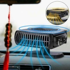 12V 2in1 Car Truck Portable Ceramic Heater Cooling Fan Heater Defroster Demister