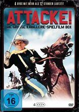 8 Películas Attacke Große Caballería Oeste Rarezas Box 50er Años DVD Indianer
