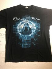 """Children Of Bodom HALO OF BLOOD Concert Tour T-Shirt Adult M 38"""" Faded Black"""