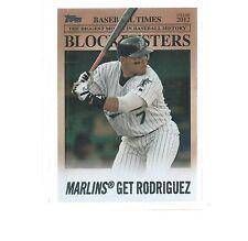 2012 TOPPS UPDATE BASEBALL BLOCKBUSTERS IVAN RODRIGUEZ #BB-16