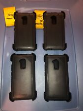 Lot Of 4pc OtterBox Defender Case with Belt Holster for HTC One Max, Black