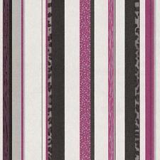 P&S gestreiftes Muster Glitzer-Motiv texturiert Designer Tapete 13471-10