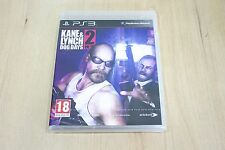 Kane & Lynch 2: Dog Days-Playstation 3-PS3 Reino Unido PAL Nuevo Sellado De Fábrica