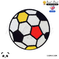 Football Colored Embroidered Iron On Sew On Patch Badge For Clothes etc