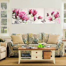 Modern Abstract Hand-painted Flower Art Oil Painting Wall Decor Canvas NO Frame