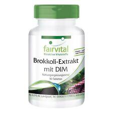 Brokkoli-Extrakt mit DIM + Sulforaphan 90 Tabletten, hochdosiert VEGAN fairvital