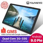 "VANKYO HD 10.1"" WIFI Tablet Android 9.0 Pie Quad Core GPS Dual Camera 2+32GB"