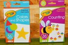 Flash Cards Childrens Educational Must Have Back to School Ready Numbers Shapes