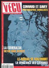 MAGAZINE VECU N°20 AVEC LA ESMERALDA / LE ROMAN DE MALEMORT /  TRES BEL ETAT