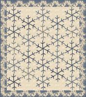 "Stardust Quilt Pattern by Laundry Basket Quilts, (LBQ-0576-P) 71""x 80"""