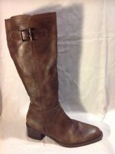 Geox Brown Knee High Leather Boots Size 36
