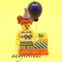 LEGO Collectable Mini Figure Series 18 - Birthday Party Girl 71021-6 COL317 R755