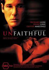 UNFAITHFUL Richard Gere DVD - R4