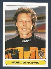 PANINI EUROPEAN FOOTBALL STARS 1997- #013-BENFICA & BELGIUM-MICHEL PREUD'HOMME