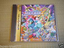 SS Mega Man ROCKMAN X 3 SEGA SATURN Japan Import Japanese Capcom Video Game