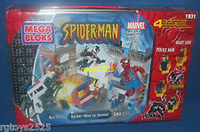SPIDERMAN vs VENOM Mega Bloks 1931 Mary Jane Collectors Ed 1 New Marvel 280 pcs