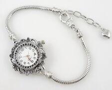 Fashion Watch Charm Bracelet Fit European Bead 20cm WN1