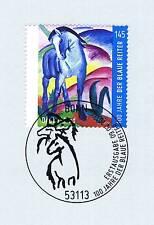 BRD 2012: Der blaue Reiter Nr. 2911 mit Bonner Ersttags-Sonderstempel! 1A! 1806