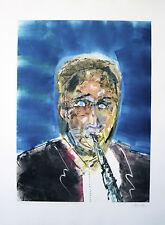 "Arthur Secunda ""Artie Shaw."" 2010, Monotype"